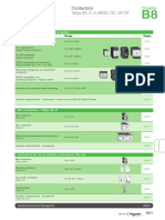 Schneider Electric - TeSys Contactors - Catalogue Chapter
