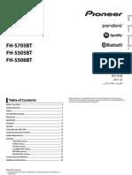 FHS705BT Instruction Manual QRD3515A