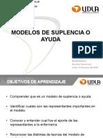 Modelos de Suplencia y ayuda udla