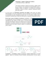 Resumo de Bioquímica - Lipídios e Membranas Celulares.docx