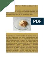 Preparacion de Pasta