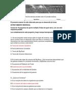 14. Examen Final de Ciencias Sociales Ciclo