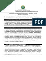 Anexo II Do Edital Reitoria-SRH Nз 1 - 2019_Conteгdo Programаtico