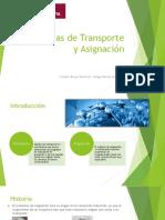 asignacion y transporte