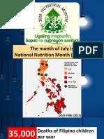 Nutrition Month Slideshow