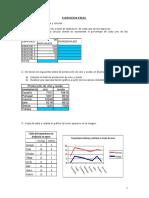 Ejercicios Excel Mercados