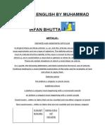 Mdcat English by Muhammad Irfan Bhutta