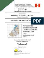 Centro de Desarrollo y Fomento a La Auto Ayuda Subcontrato _ Reserva Titicaca Mauri Términos de Referencia Estudio Técnico y Socioeconómico