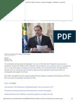 Lava Jato RJ_ Decisão de Toffoli é _retrocesso_ e Paralisa Investigações - 16-07-2019 - UOL Notícias