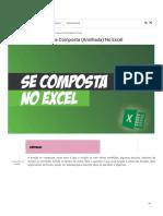 Como usar a função se composta (aninhada) no Excel - Excel na Mente.pdf