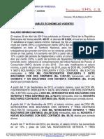 Variables Economicas Vigentes (Marzo 2014) (1)