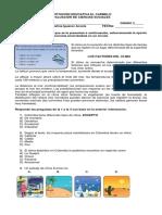 Evaluacion El Clima 3 primaria