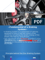 DISC Braking System in Cars