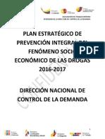 Plan Nacional de Prevencion 2016-Aporte Ambato