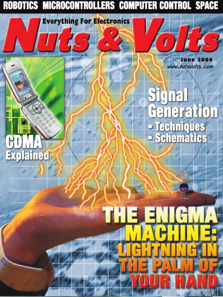 Nuts Volts 25 06 Jun 2004 Electronic Circuits Am Broadcasting 5x 74hc595 8bit Shift Register Ic Digital Integrated Circuit Ebay