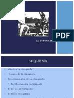 Presentacion Que Es La Etnografia