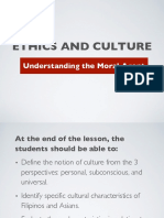Ethics and Culture
