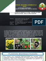 Uso de la resistencia vegetal