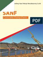 Catalog of SANF Concrete Pump Parts