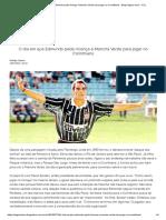 O Dia Em Que Edmundo Pediu Licença à Mancha Verde Para Jogar No Corinthians - Blog Pagina Cinco - UOL