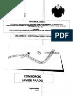 Vol II Especificaciones Tecnicas