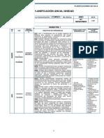 Lenguaje Planificacion - 6 Basico