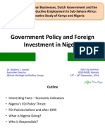 A Mob i Government Policies and Foreign Investments in Nigeria