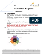 Business Resilience and Risk Management Policy
