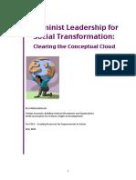 Feminist Leadership Clearing Conceptual Cloud Srilatha Batliwala (1)