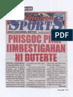 Remate, July 17, 2019, Phisgoc pinaiimbestigahan ni Duterte.pdf