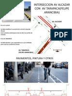 Diseño Av Tarapaca(Felipe Arancibia)