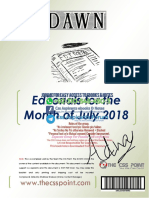 Monthly DAWN Editorial July 2018 Final