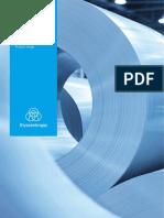 Thyssenkrupp Electrical Steel Product Range