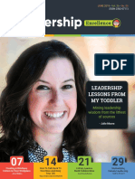 Leadership Excellence June 2019