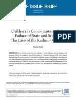 ORF Issue Brief 275 Children-Kashmir