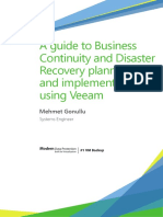 Veeam Business Continuity and Planning Guide