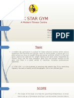 Gym Business Plan Presentation