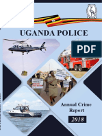Uganda Police Force annual crime report, 2018