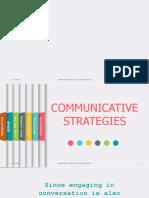 Communicative Strategies 101