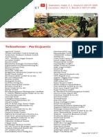 Anuga 2017 Teilnehmer Sonderschau Organic Market