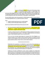 1. People vs Ferrer(Bill of Attainder Defined)