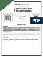 Programa Jurisprudencia Constitucional