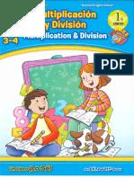Multiplicacion y División 3º y 4º Ep