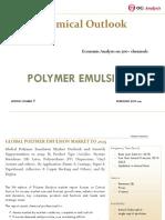OGA_Chemical Series_Polymer Emulsion Market Outlook 2019-2025
