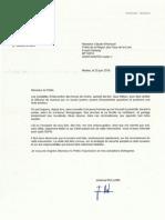 2019-06-25 - Courrier _ l'Attention Du Préfet - Quai Wilson