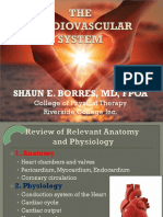 Cardiovascular Anatomy and Physiology MS1