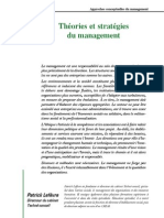Approches Conceptuelles Du Management