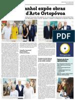 Noticia Exposição Josep Ros - Galeria d'Arte Ortopovoa