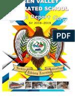 Green Valley is School Report Card 2018-2019