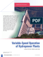 Variable Speed Operation